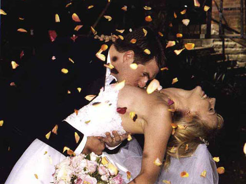pyrotechnic services - rose petals